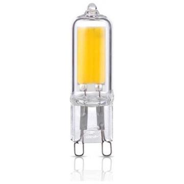 V-TAC LED Λάμπα G9  Γυάλινο 4W Φως Ημέρας (2743)