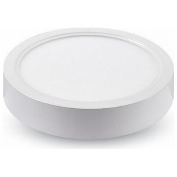 LED Εξωτερικό Πάνελ mini 8W Στρογγυλό Ψυχρό Λευκό 4803 (4803)