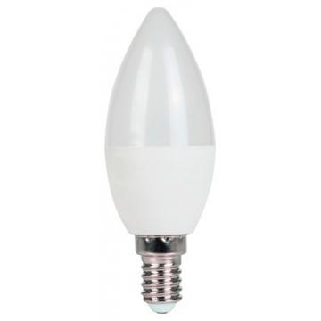 LED Λάμπα V-TAC E14 Κεράκι 7W SAMSUNG CHIP Ψυχρό Λευκό 6400Κ (113)