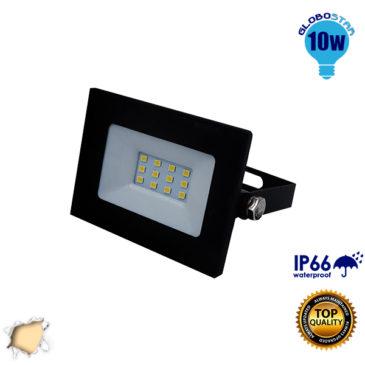 Προβολέας LED Slim Pad 10W 230v 900lm 120° Αδιάβροχος IP66 Θερμό Λευκό 3000k GloboStar 11113