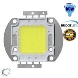 Υψηλής Ισχύος COB LED BRIDGELUX 50W 32V 5000lm Ψυχρό Λευκό 6000k GloboStar 46302