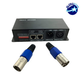 LED DMX512 Controller 3 Channels 12V – 24V DC 288-576 Watt GloboStar 15141