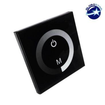 Touch Panel Dimmer Τοίχου 12-24 Volt 144 Watt GloboStar 77410