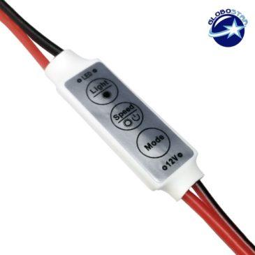 LED Dimmer με Καλώδιο 5-24 Volt 72 Watt GloboStar 77411