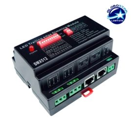 Dimmer Pack Ράγας 800 Watt Trailing Edge για LED Προϊόντα 220 Volt 1 Καναλιού DMX512 GloboStar 50060
