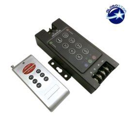 Ασύρματος LED Controller RGB 360 Watt 12-24 Volt GloboStar 55530