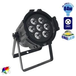Επαγγελματική Κεφαλή PAR LED WASH 84W 230V 30° DMX512 RGBW GloboStar 51112