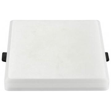 LED Πάνελ mini 20W Samsung chip Frameless Τετράγωνο Θερμό Λευκό 611 (611)