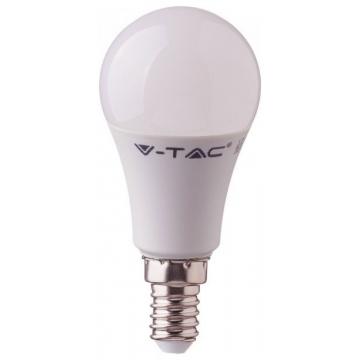 LED Λάμπα V-TAC 9W SAMSUNG CHIP E14 Α58 Plastic Φως Ημέρας 115 (115)