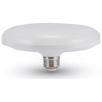 LED Λάμπα V-TAC Ε27 24W SAMSUNG CHIP F200 UFO Οροφής Θερμό Λευκό (216)