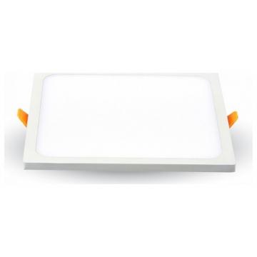 LED mini Πάνελ V-TAC 8W Μικρό Πλαίσιο Τετράγωνο Θερμό Λευκό 4943 (4943)