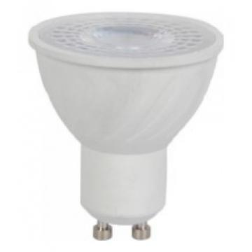 LED Spot VTAC GU10 6W Plastic 38° CRI 95+ Θερμό Λευκό 7497 (7497)