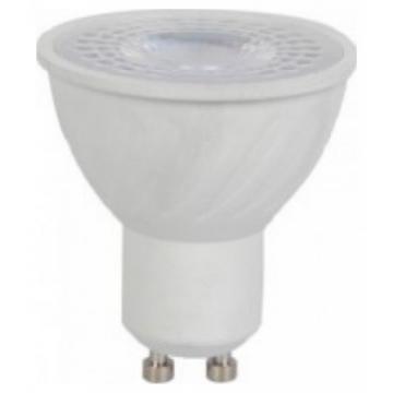 LED Spot VTAC GU10 6W Plastic 38° CRI 95+ Ψυχρό Λευκό 7499 (7499)
