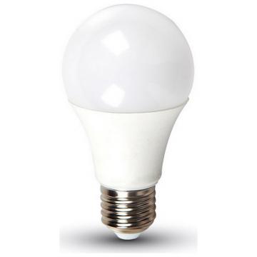 LED V-TAC Έξυπνη Λάμπα E27 9W A60 RGB+ Ψυχρό Λευκό 6000Κ Ντιμαριζόμενη Συμβατή με Amazon Alexa και Google Home (7452)