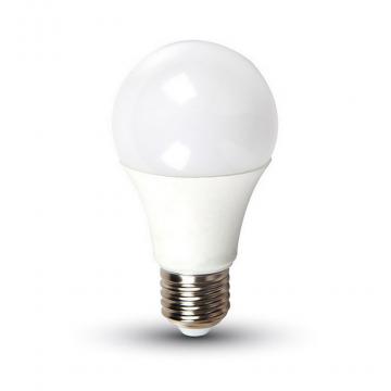 LED V-TAC Έξυπνη Λάμπα E27 9W A60 RGB+ Φως Ημέρας 4000Κ Ντιμαριζόμενη Συμβατή με Amazon Alexa και Google Home (7451)
