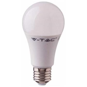 LED V-TAC Λάμπα Ε27 A60 9W με Ανιχνευτή Κίνησης με Μικροκύματα Θερμό Λευκό 2760 (2760)