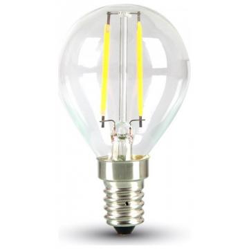 LED V-TAC Λάμπα E14 4W (P45) Filament ψυχρό Λευκό 4426 (4426)