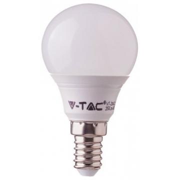 LED V-TAC Λάμπα Ε14 7W P45 SAMSUNG CHIP Ψυχρό Λευκό (865)
