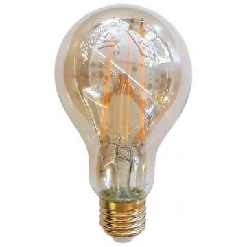 LED V-TAC Λάμπα Ε27 12.5W Filament A70 Amber Θερμό 2200K 7457 (7457)