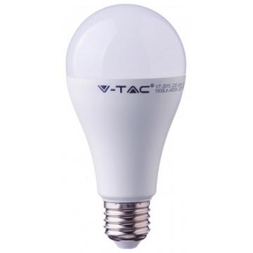 LED V-TAC Λάμπα E27 17W A65 SAMSUNG CHIP Θερμό Λευκό 162 (162)