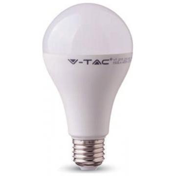 LED V-TAC Λάμπα E27 18W A80 SAMSUNG CHIP Ψυχρό Λευκό 128 (128)