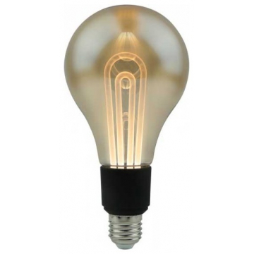 LED V-TAC Λάμπα Ε27 5W Filament Vintage Σφαιρική G100 Amber Θερμό 2200K sku2748 (2748)