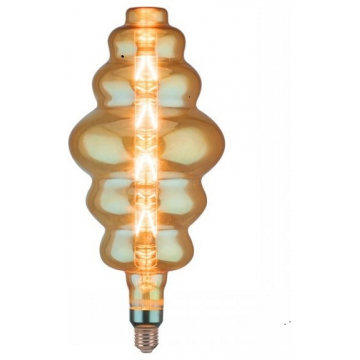 LED V-TAC Λάμπα Ε27 8W Special Filament S180 Amber Θερμό Dimmable 45661 (45661)