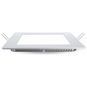 LED V-TAC mini Πάνελ Χωνευτό 18W Premium SAMSUNG Chip Τετράγωνο Θερμό Λευκό 715 (715)