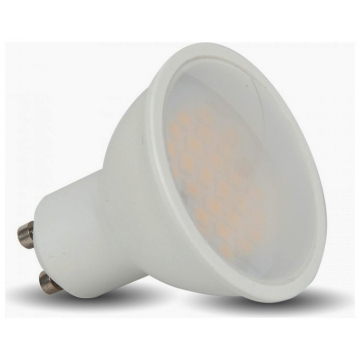 LED Spot VTAC GU10 3W Πλαστικό 110° Θερμό Λευκό 3000Κ (7126)