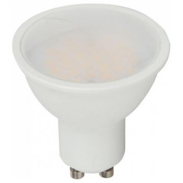 LED VTAC Spot GU10 3,5W Plastic 110° RGB+ Θερμό Λευκό με Χειριστήριο 2778 (2778)