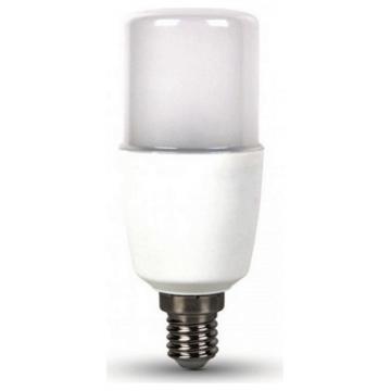 LED Λάμπα V-TAC 8W SAMSUNG CHIP E14 T37 Plastic Ψυχρό Λευκό (269)