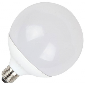 V-TAC LED Λάμπα Ε27 (G120) 18W ΣΦΑΙΡΙΚΗ Φώς ημέρας (4434)