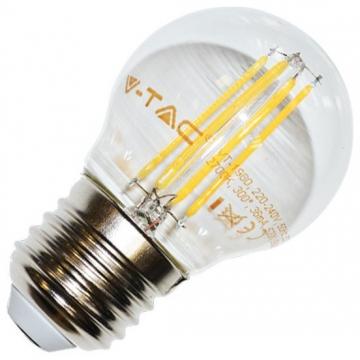 LED V-TAC Λάμπα Ε27 4W (G45) Retro Look Edison 4306 (4306)
