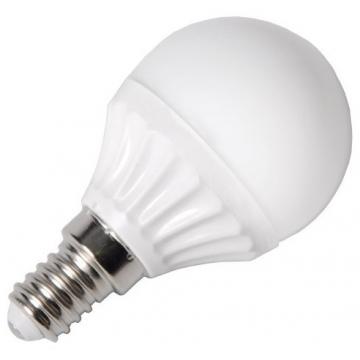 LED V-TAC Λάμπα Ε14 μπαλάκι 4W (P45) 320lm Θερμό Λευκό (4123)