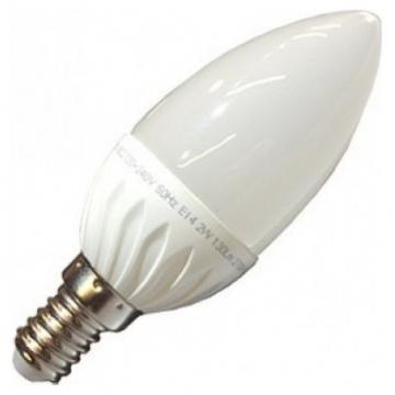 LED V-TAC Λάμπα E14 Κεράκι 4W 320lm Θερμό Λευκό (4216)