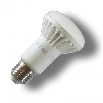 LED V-TAC Λαμπτήρας E27 καθρέπτη SAMSUNG Chip 8W (R63) Θερμό Λευκό 141 (141)
