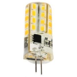 V-TAC LED Λαμπα G4 Σιλικονης 3W 360° 12V DC Ψυχρό Λευκό (4314)