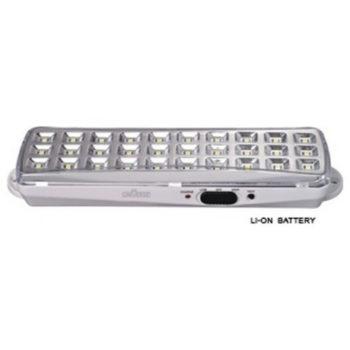 Επαναφορτιζόμενο φωτιστικό ασφαλείας LED 3W με μπαταρία λιθίου(9030S)