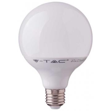 V-TAC LED Λάμπα Ε27 G120 17W Samsung Chip Σφαιρική Θερμό Λευκό (225)