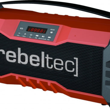 REBELTEC φορητό SoundBox 350 (18W RMS) bluetooth/Aux/Radio/Usb/MicroSd (soundbox350)