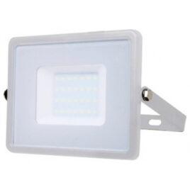 V-TAC LED Προβολέας SAMSUNG CHIP SMD 30W Σώμα Λευκό, Ψυχρό Λευκό 5 Χρονια Εγγύηση 405