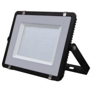 LED Προβολέας V-TAC SAMSUNG CHIP 300W 220V  SMD Μαύρος Ψυχρό Λευκό 5 χρόνια εγγύηση 423