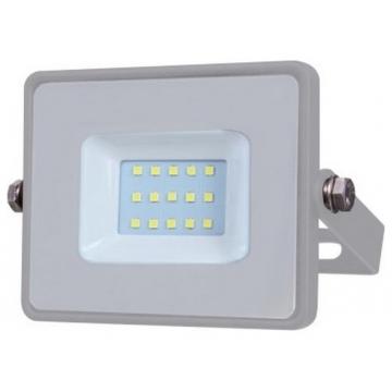 V-TAC LED Προβολέας SAMSUNG CHIP SMD Α++ 10W Σώμα Γκρι Θερμό Λευκό 430