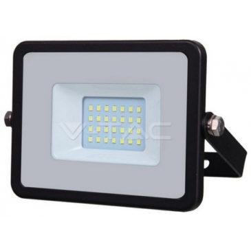 V-TAC LED Προβολέας SAMSUNG CHIP SMD Α++ 20W Μαύρος Θερμό Λευκό 439