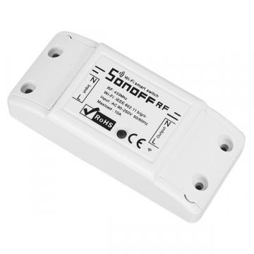 SONOFF Basic Smart Home Switch WiFi & RF 433.92MHz – Ασύρματος Έξυπνος Διακόπτης WiFi & RF GloboStar 48458 (48458)