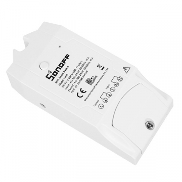 SONOFF TH10 Monitor Smart Home Temperature & Humidity WiFi – Ασύρματος Έξυπνος Διακόπτης Μετρητής Υγρασίας & Θερμοκρασίας WiFi 10 Ampere GloboStar 48459 (48459)