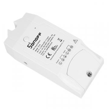 SONOFF TH16 Monitor Smart Home Temperature & Humidity WiFi – Ασύρματος Έξυπνος Διακόπτης Μετρητής Υγρασίας & Θερμοκρασίας WiFi 16 Ampere GloboStar 48460 (48460)