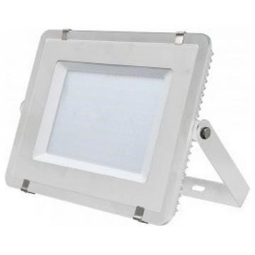 LED Προβολέας V-TAC SAMSUNG CHIP 300W 220V  SMD Σώμα Λευκό, Ψυχρό Λευκό 5 χρόνια εγγύηση 487