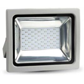 LED  Προβολέας V-TAC 30W Γκρι SMD RGB με Τηλεκοντρόλ RF 5755