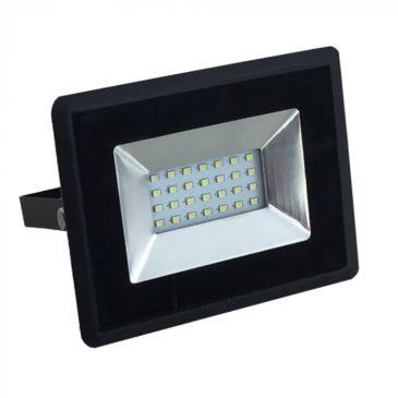 V-TAC LED Προβολέας SMD 20W E-Series Μαύρος Ψυχρό Λευκό 5948